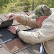 Roofer Working — Stock Photo
