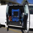 Stock Photo: Carpet Cleaning Van 4c