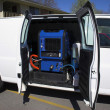 Carpet Cleaning Van 4c - Zdjcie stockowe