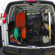 Stock Photo: Carpet Cleaning Van 4
