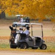 Fall Golfing — Stock Photo #6925972