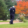 Stock Photo: Fall Golfing