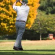 Royalty-Free Stock Photo: Fall Golfing