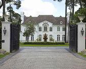 Casas de milhões de dólares — Foto Stock