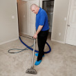 Carpet Steam Cleaning — Stock Photo