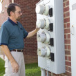 Stock Photo: Electric Meter