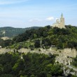 Stock Photo: Tsarevets fortress in veliko tarnovo bulgaria