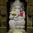 Ganesh statue in bali indonesia - Stock Photo