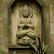 Buddha image in bali indonesia — Stock Photo