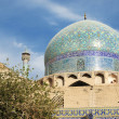 Mosque in isfahan iran - Stock Photo