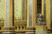 Grand palace temple bangkok thailand — Stock Photo