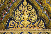 Grand palais temple détail bangkok thailand — Photo