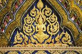 宏伟的宫殿寺详细介绍泰国曼谷 — 图库照片