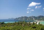 Ilha de ko phi phi na tailândia — Fotografia Stock