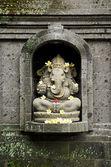 Dieu hindou ganesh à bali en indonésie — Photo