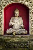 Buddha statue in bali indonesia — Stock Photo