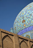 Detail of mosque esfahan iran — Stock Photo