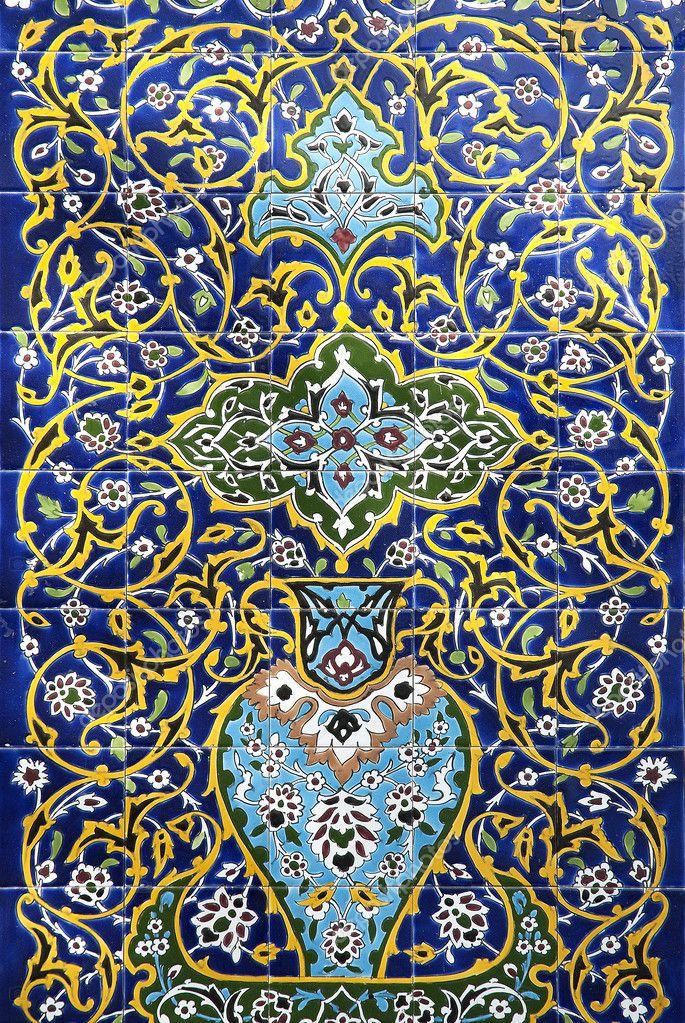 Piastrelle arabe boiserie in ceramica per bagno - Produttori di piastrelle ...