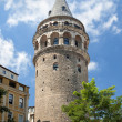 Galata tower in istanbul turkey — Stock Photo