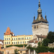 Rooftops of sighisoara in romania — Stock Photo
