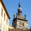 Rooftops of sighisoara in romania — Stock Photo #6772725