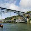 Dom luis bridge in porto portugal — ストック写真