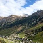 Vals village in switzerland alps — Stock Photo #6776059