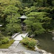 Stock Photo: Japanese traditional garden in kyoto japan