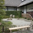 Stock Photo: Japanese traditional stone garden in kyoto japan