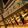 Grand palace temple bangkok thailand — Stock Photo