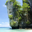 Tropical island beach in thailand — Stock Photo