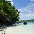Tropical island beach in thailand — Stock Photo #6776418