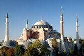 Hagia sophia mosque in instanbul turkey — Stock Photo