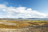 Rural iceland landscape — Stock Photo