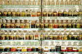 Perfume shop in cairo souk egypt — Stockfoto