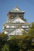 Osaka castle in japan — Stock Photo