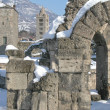 Roman Theatre, Aosta - Stock Photo
