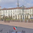 Stock Photo: Piazza Vittorio, Turin