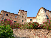 Balestrino castle — Stock Photo