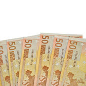 примечание евро — Стоковое фото