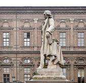 Vincenzo Gioberti monument — Stock Photo
