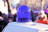 Police light — Stock Photo