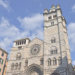 San Lorenzo church, Genoa — Stock Photo