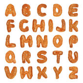 British alphabet letters — Stock Photo