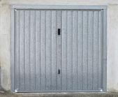 Car port door — Stock Photo