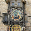 Clock Prague — Foto Stock