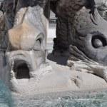 Triton Fountain, Rome — Stock Photo