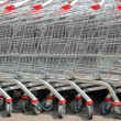 Shopping cart trolley — Stock Photo