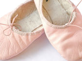 Ballet shoes — Stock fotografie