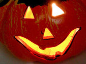Halloween jack o lanterna — Fotografia Stock